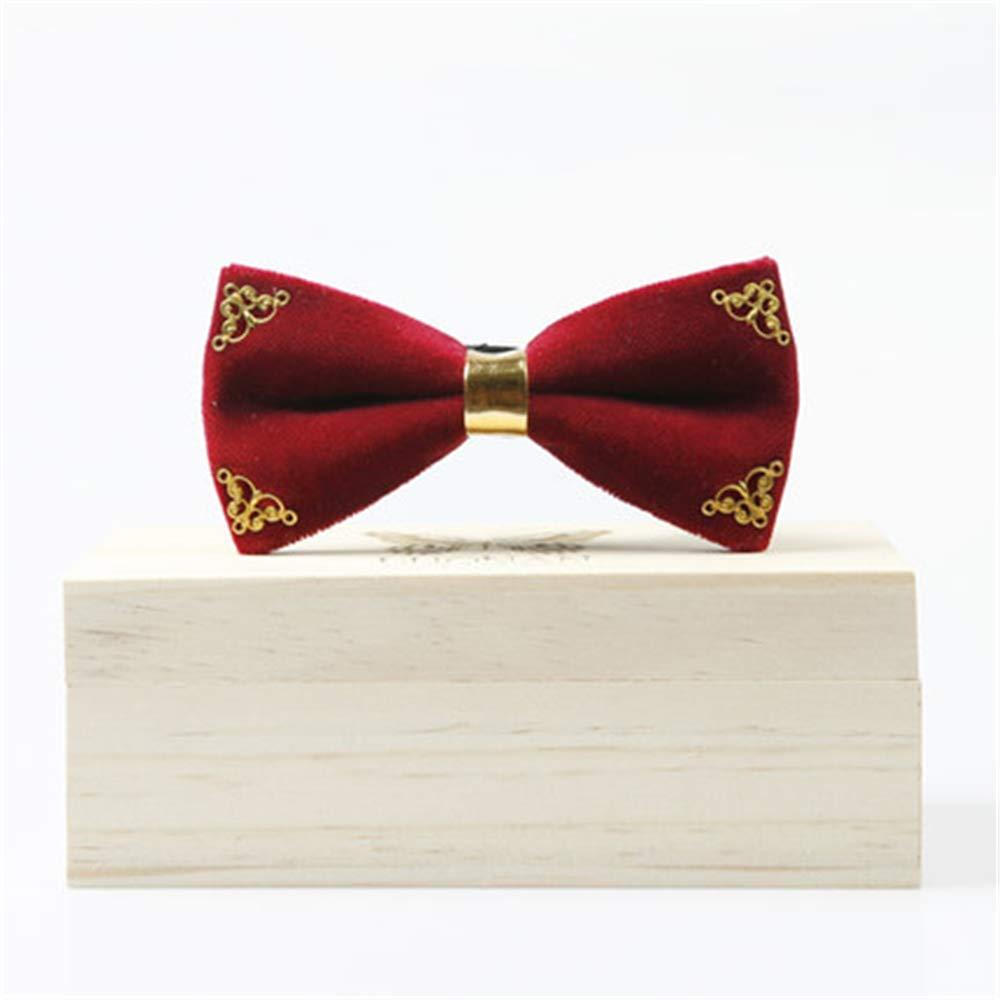 Mens Metallic Color Adjustable Bow Tie