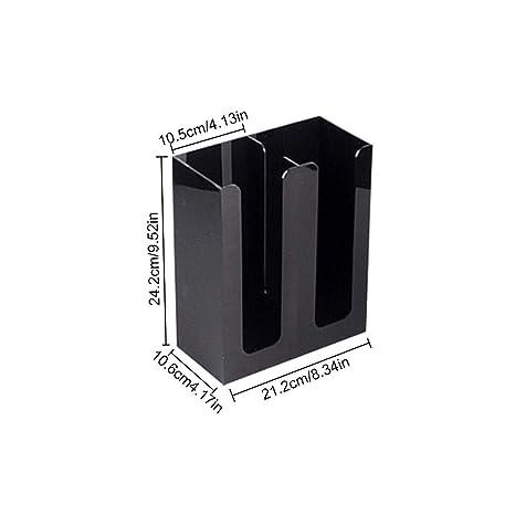 Globalqi Dispensador de Mangas para Tazas - Dispensador de Tazas de una Pieza para Vasos de
