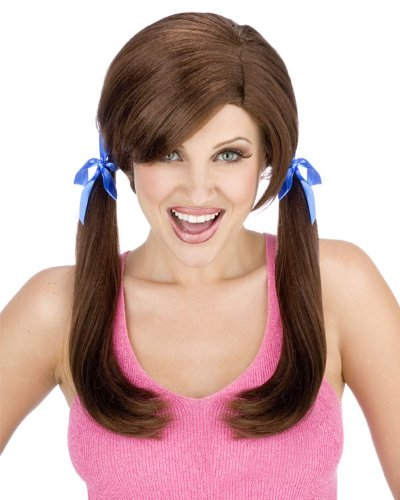 [Farmers Daughter Wig Costume Accessory] (White Trash Lady Costume)