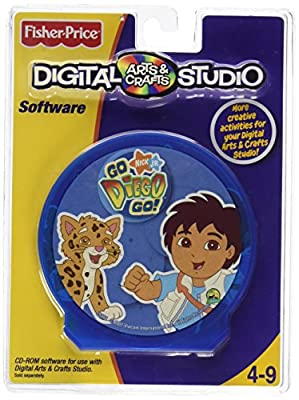 Fisher-Price Digital Arts and Crafts Studio-Go Diego Go
