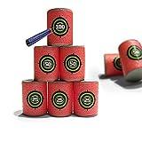 Koubi 18PCS EVA Soft Bullet Target Foam Dart Gun Shoot For NERF N-Strike Blasters