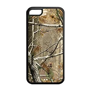 Super Beautiful Camo Tree Case Cover for iPhone 5C