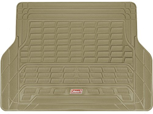 Coleman Cargo Mat Trunk Liner Fits Most Sedans, Coupes and SUVs - Semi Custom Trimmable - ()