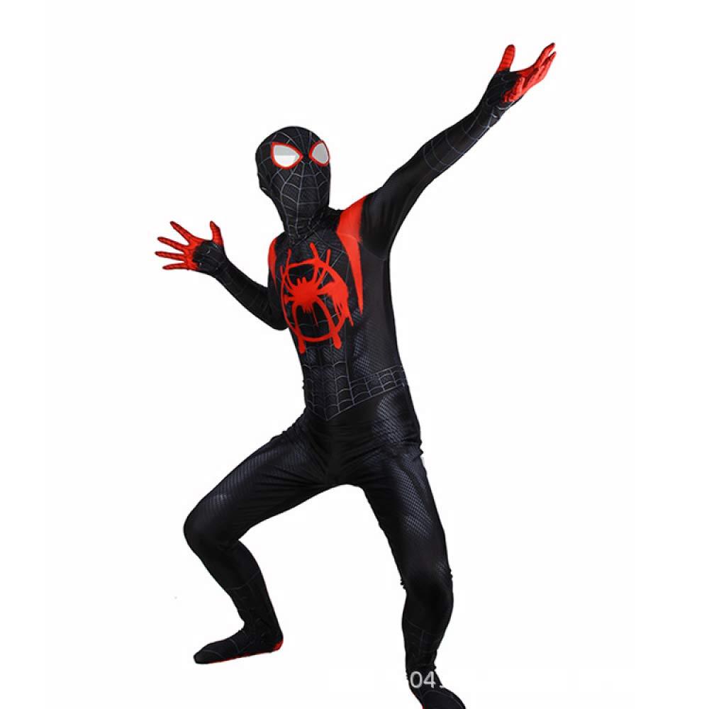 AKCHIUY Disfraz Spiderman Niño, Estampado con Patrón De ...