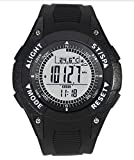 SUNROAD Brand Multifunctional Sports Compass Watch with Altimeter Barometer Compass Montre Altimeter Thermometer Weather Display