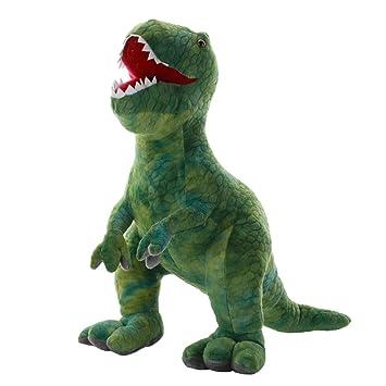 Amazon Com Aixini Green T Rex Tyrannosaurus Dinosaur Plush Stuffed