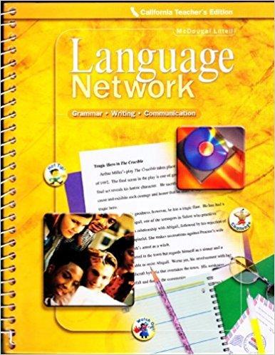 McDougal Littell Language Network Grammar