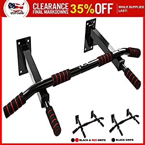 Wall Mount Chin Up Bar Authentic Wall Mounted Heavy Duty Pull Up Bar with Four Grip Positions