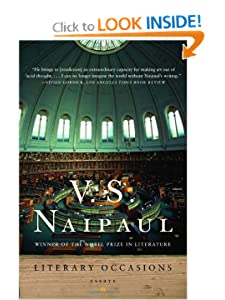 Literary Occasions: Essays V.S. Naipaul