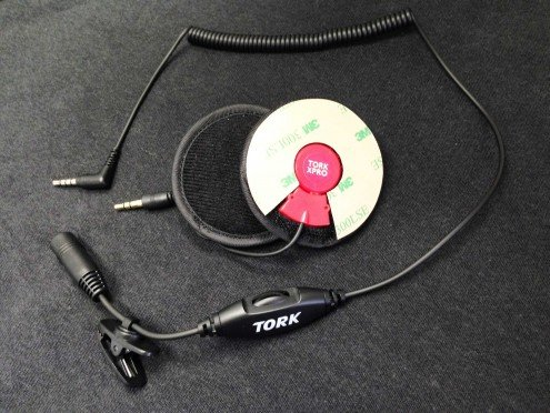 Tork X-Pro Motorcycle Helmet Speakers (with Volume Control)
