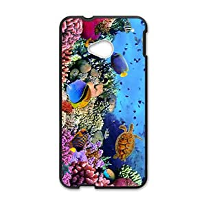 Sea Turtle Hight Quality Plastic Case for HTC M7