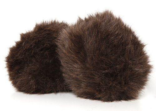 Star Trek Tribble, Dark Brown - New Dual Sound Version - Large Size by Tribble Toys (Image #1)