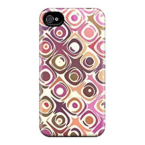 Cute High Quality Iphone 4/4s Retro Print Case by lolosakes