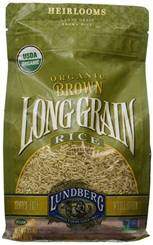 Long Grain Brown Rice (Lundberg Organic Long Grain Brown Rice, 32-Ounce)
