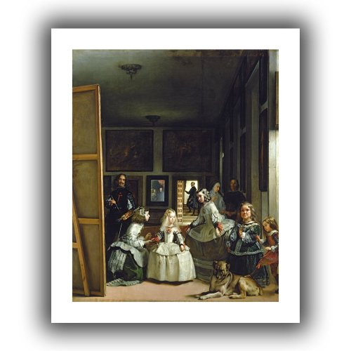 ArtWall ''Las Meninas or The Family of Philip IV'' Unwrapped Canvas by Diego Velazquez, 24 by 28-Inch by ArtWall