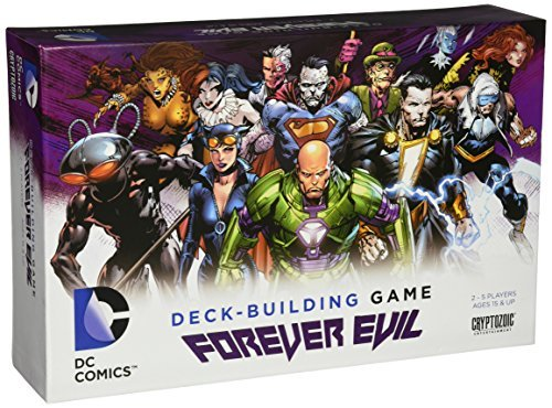 DC Deck Building Game Set 3  Forever Evil by Cryptozoic Entertainment