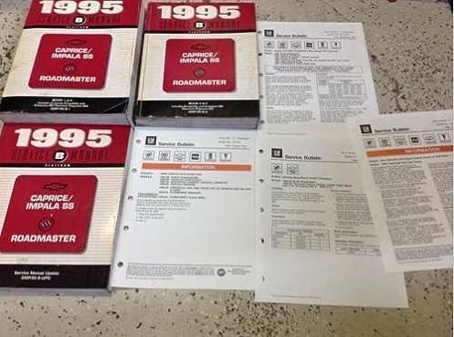 1995 chevy caprice impala ss buick roadmaster repair shop manual rh amazon com Caprice 245 40 20 1995 caprice service manual