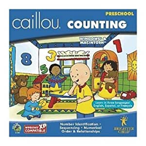 Caillou Counting