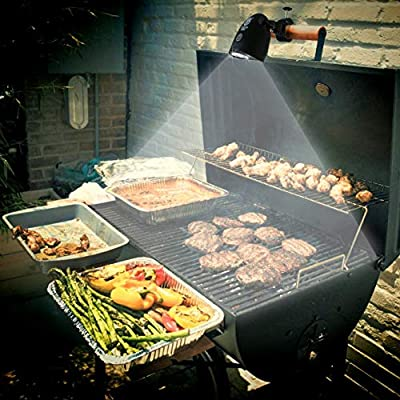 Culinary King LED Barbecue Grill Light - Fully-Adjustable, All-Weather, 50,000 Hour Lifespan, Lifetime Guarantee