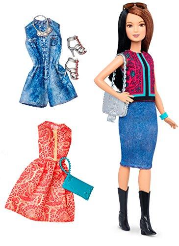 (Barbie Fashionistas Doll & Fashions Pretty In Paisley )