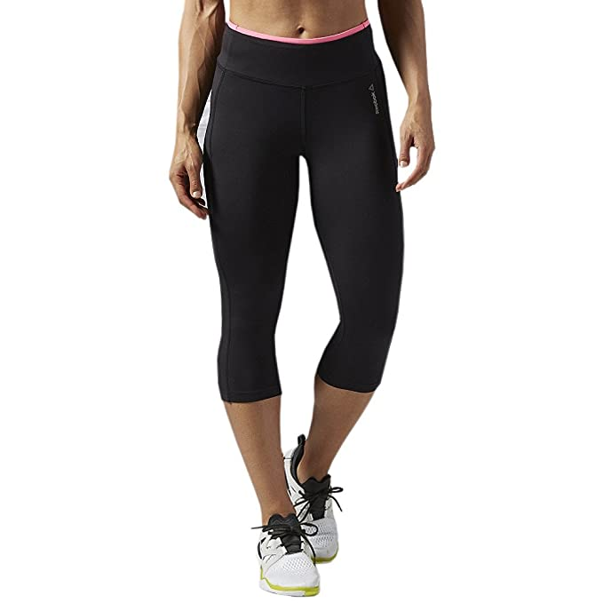 Amazon.com: Reebok Womens Workout Ady PP Capri: Clothing