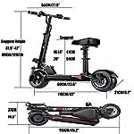 Gjfhome-Monopattino-Elettrico-con-Ricarica-del-Telefono-USB-Motore-350W-velocit-Fino-a-30-KmhScooter-Elettrico-Adulti-con-Sedile-RimovibileCarico-Massimo-di-150-kg