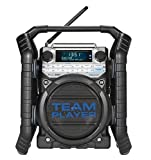 Perfectpro Teamplayer DAB Worksite Radio with Bluetooth streaming