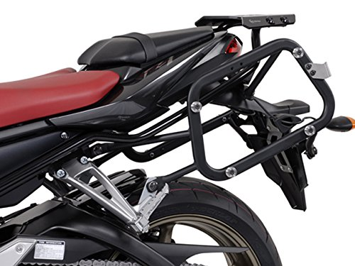 (SW-MOTECH Quick-Lock EVO Sidecarriers to fit Many Side Case Types for Yamaha FZ1 Fazer '06-'15)