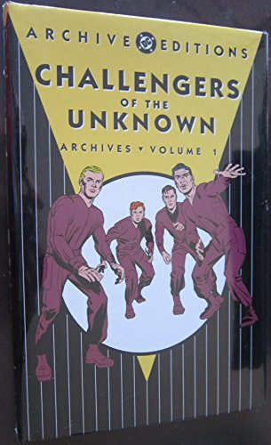 Challengers Of The Unknown Archives HC Vol 01 Jack Kirby Cover Art
