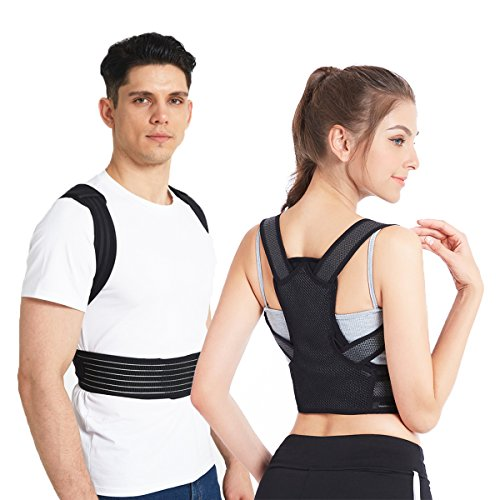 Posture Corrector, Slimerence, Scoliosis Humpback Correction Belt, Adjustable Comfort Invisible Belt, Back Humpback Kyphosis, for Man Woman Adult Students Children