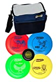 Innova Disc Golf Set with 4 Discs Starter Disc Golf Bag - DX Distance Driver, Fairway Driver, Mid-Range,...
