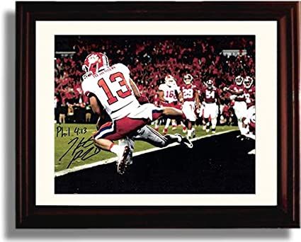 Clemson Tigers National Champs! Framed Hunter Renfrow Sports Illustrated Autograph Replica Print