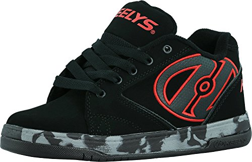 Heelys Kids Propel 2.0 Black/Red/Confetti Sneaker - 2