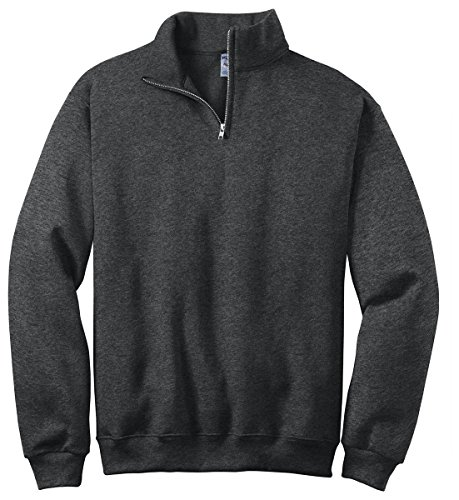 Jerzees 50/50 NuBlend Quarter-Zip Cadet Collar Sweatshirt, 2