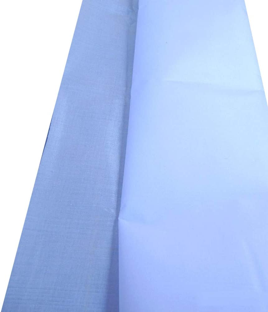 White Full Funk Iron On Interfacing KayMee Fusible Glue Coating Fabric Thin//Mid//Thick