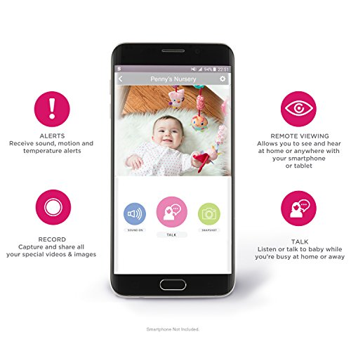 Alexa Enabled Smart Baby Monitor with WiFi from Project Nursery by Project Nursery (Image #5)