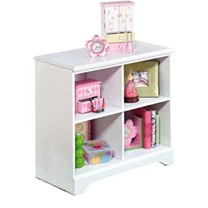 Commercial Cubbies Toy Organizer For Storage, Contemporary Kids 4 Cubbies  White Piece Toy Organizer For