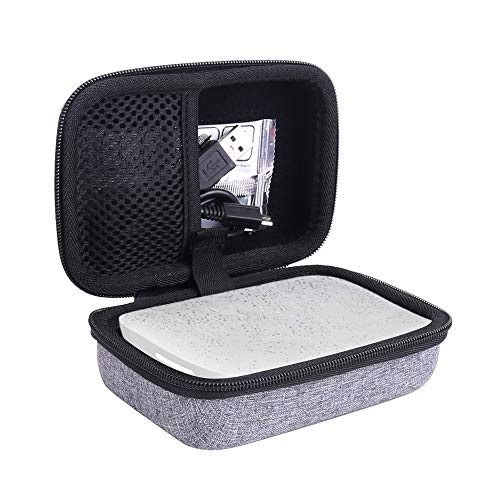 Hard Case for HP Sprocket 2nd edition/200/2-in-1 Photo Printer&Instant Camera by Aenllosi (Gray)