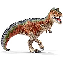Schleich Réplica de Figura de Dinosaurio Gigantosaurio Naranja, color naranja con gris y verde