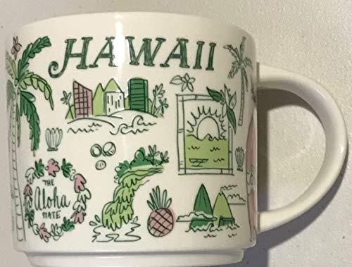 Mug Hawaii White (Starbucks Hawaii Been There Series 14oz Ceramic Mug)