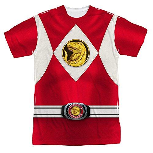 Power Rangers - Men's T-shirt Red Ranger