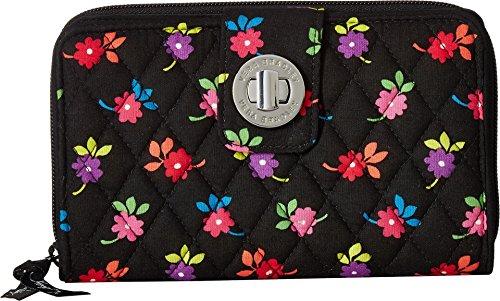 Vera Bradley Women's Turnlock Wallet Flowerettes One Size