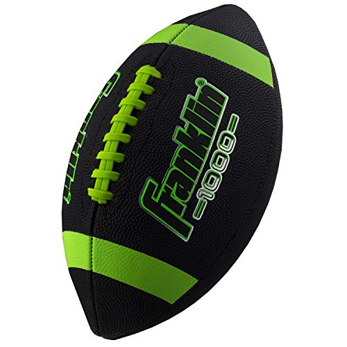Franklin Sports Junior Size Football – Grip-Rite Youth Footballs – Extra Grip Synthetic Leather Perfect for Kids