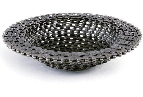 Revival Bowl - Recycled Bike Chain 10'' BOWL by Resource Revival -