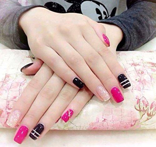 Ecbasket Acrylic Nail Tips Natural Fake Nails Short Oval: Makartt Oval Nails Tips Natural Full Cover Acrylic False