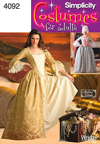 Simplicity Women's Victorian Dress Costume Sewing Pattern, Sizes