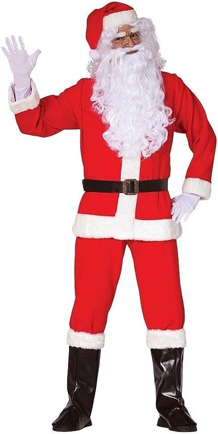 Fancy Me Disfraz de Papá Noel de Navidad para Hombre, 7 Piezas ...