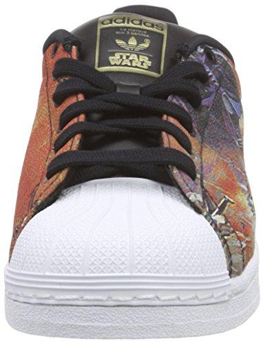 Bambini ftwr core Superstar Wars Originals core White Black mehrfarbig Unisex Multicolore Black Star Scarpe Da Ginnastica Adidas 8ZBw4Pqxw
