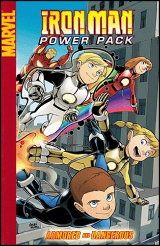 Iron Man And Power Pack: Armored And Dangerous Digest: Amazon.es ...