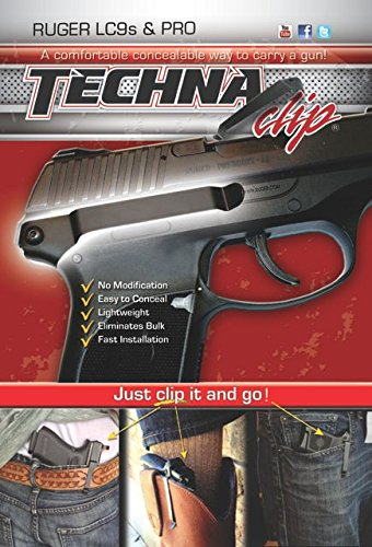Techna Clip - Ruger LC9S .9MM - Conceal Carry Belt Clip (Right-Side)
